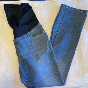 Isabel Bootcut Maternity Jeans Sz 10 Over Belly